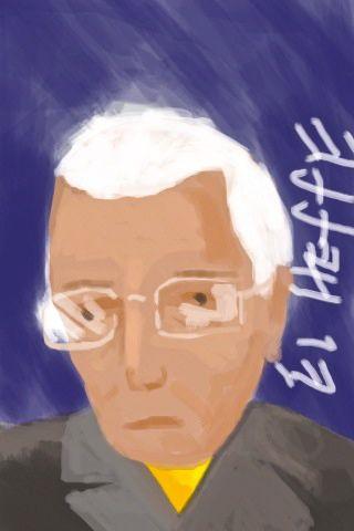 "iPhone illustration ""El Heffe"""