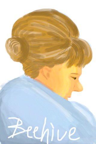 "iPhone illustration -'Beehive"""