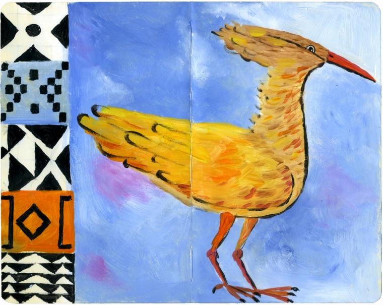 African mythical creatures: the Impundulu or Lightning bird.©ken wilson-max 2012