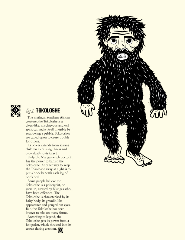 adze vampire. the mythical southern african creature, tokoloshe is a dwarf-like, mischievous and evil spirit can make itself invisible by swallowing pebble. adze vampire