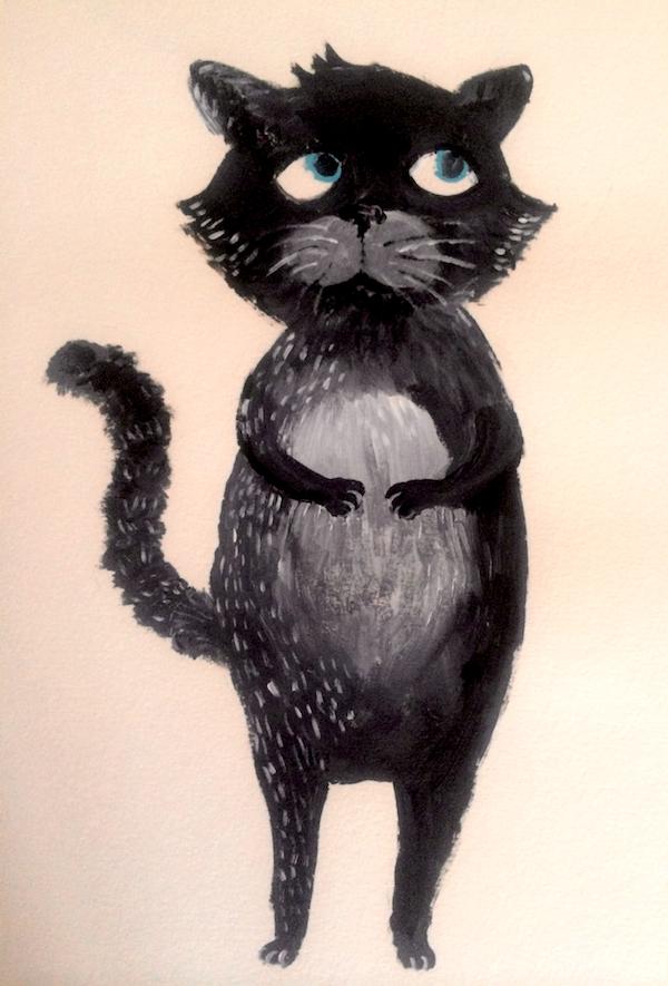 Purrdy Cat