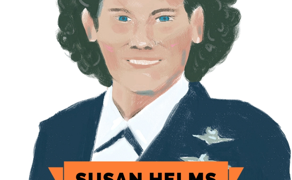Astro Girls: Susan Helms