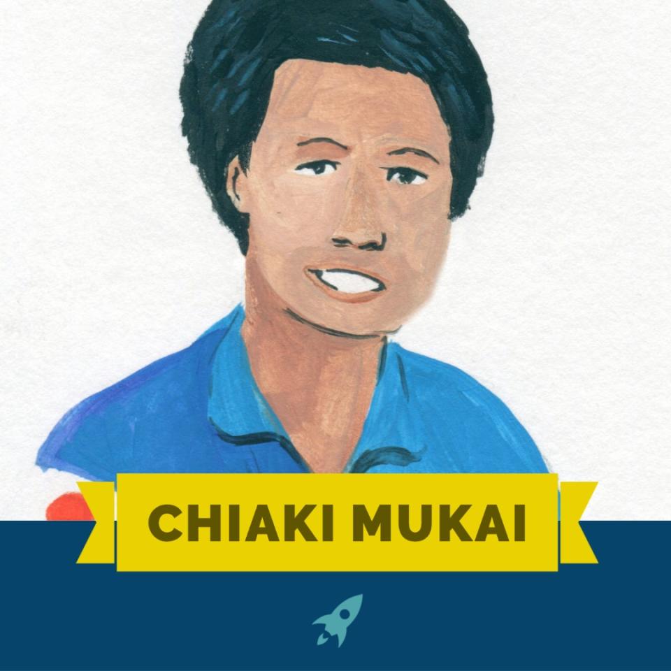 portrait of Chiaki Mukai