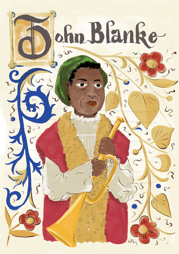 Portrait of John Blanke