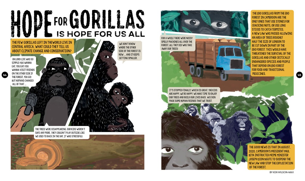 Gorrilla story for Scoop Magazine