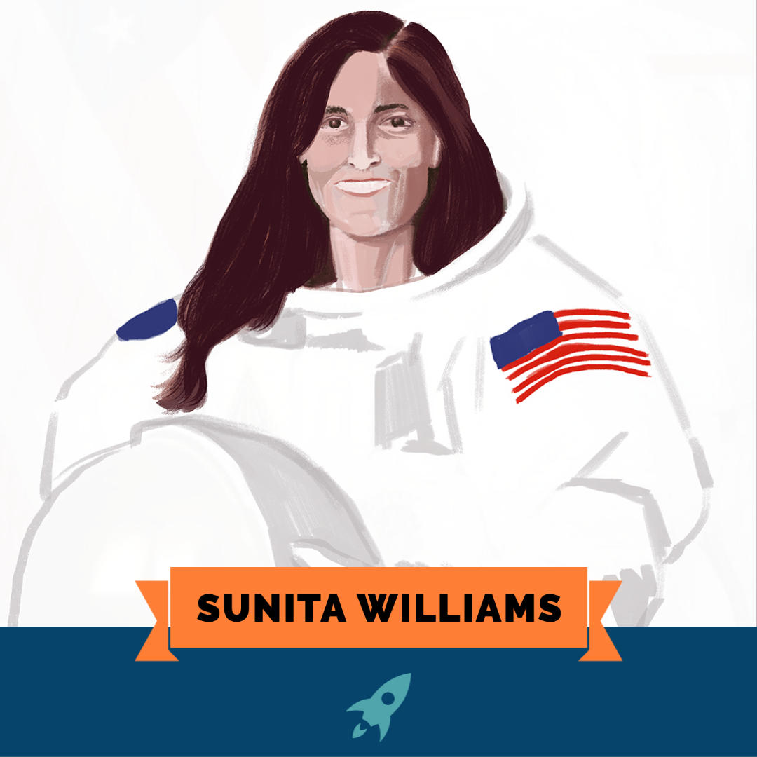 Astro Girls: Sunita Williams