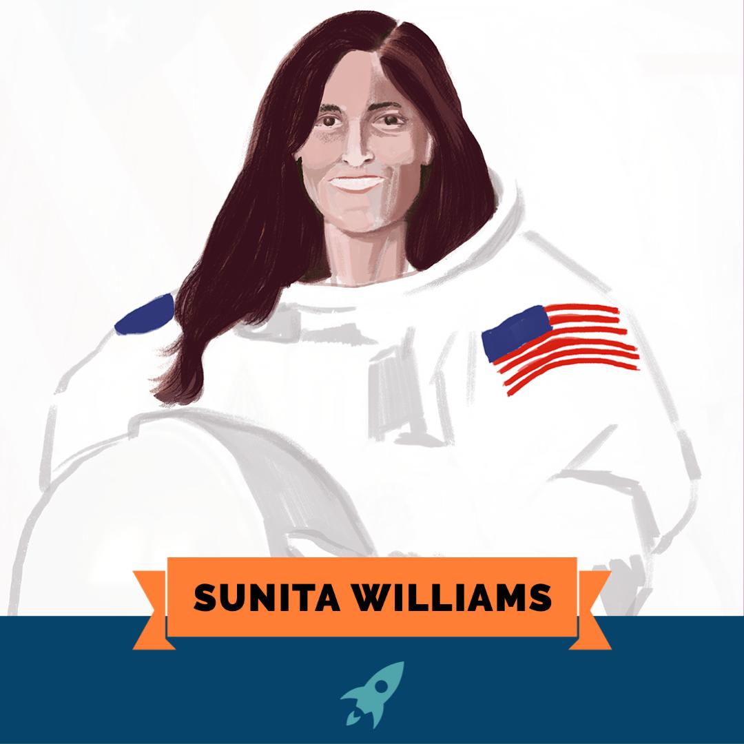 Astro Girls: Sunita Williams
